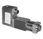 Didelio atsako servo proporciniai vožtuvai, DXJ3 - elektrohidraulinis servo proporcinis vožtuvas su įmontuota elektronika