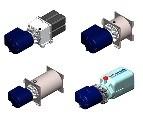 Įvairios paskirties hidraulinės stotelės, PK-STD